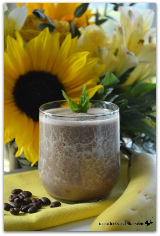 Coffee Banana Protein Smoothie - About Page