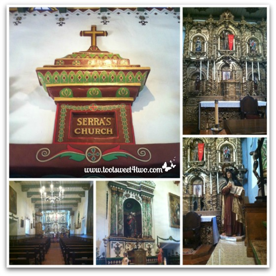 Inside Serra's Church - Mission San Juan Capistrano