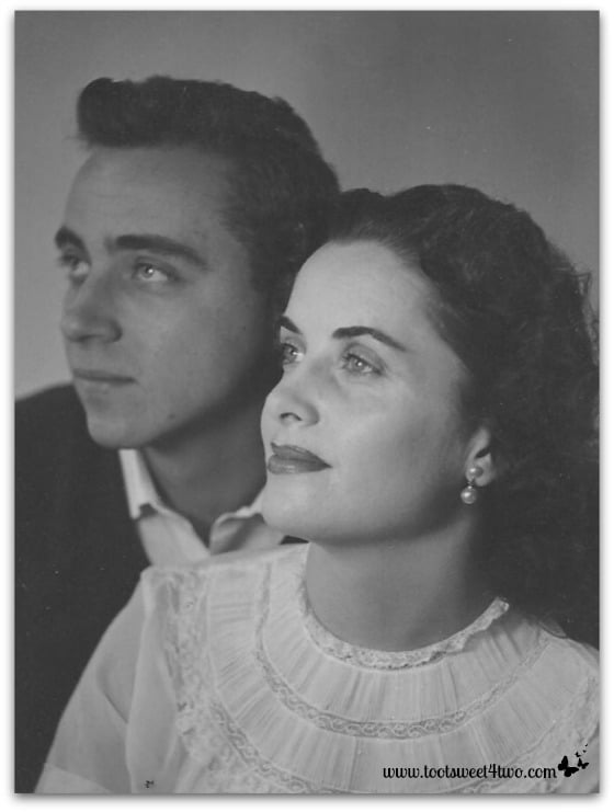 My glamorous parents, circa early 1950's - About Page