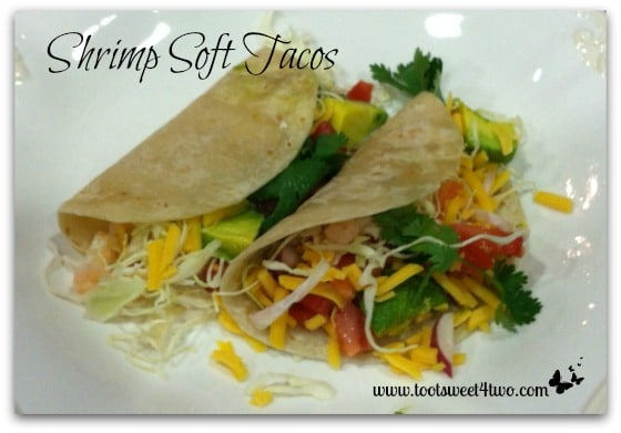 Shrimp Soft Tacos - Toot Sweet 4 Two