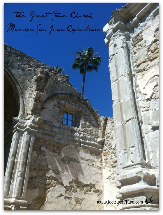 The Great Stone Church, Mission San Juan Capistrano