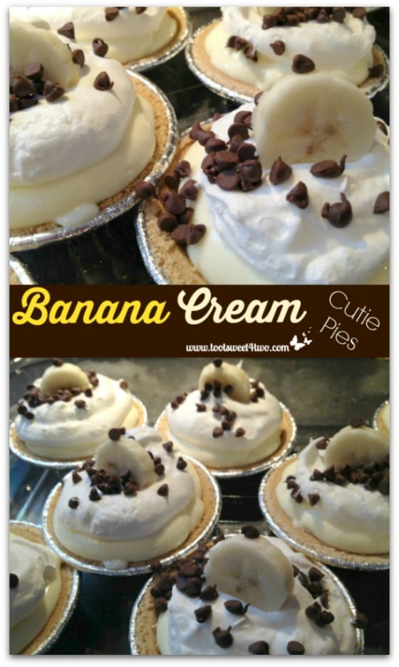 Banana Cream Cutie Pies Pinterest