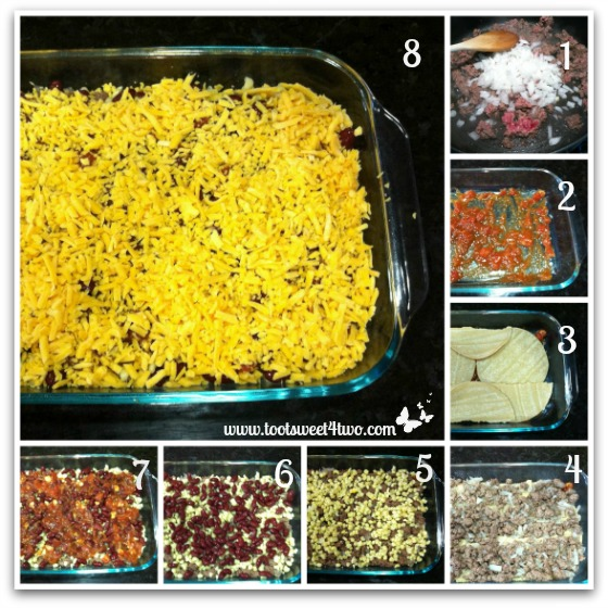 Charlie's Layered Mexican Casserole Tutorial Part 1