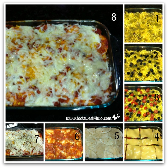 Charlie's Layered Mexican Casserole Tutorial Part 2