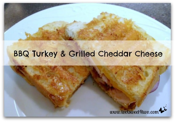 BBQ Turkey and Grilled Cheddar Cheese