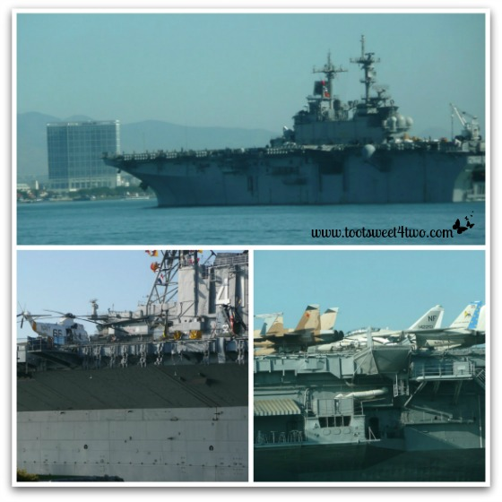 Navy ship and The Midway