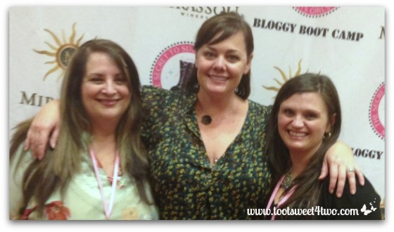 With Tiffany Romero at Bloggy Boot Camp