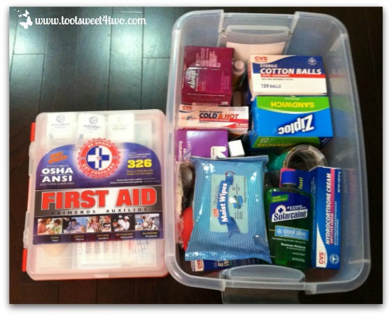 First Aid Kit plus more