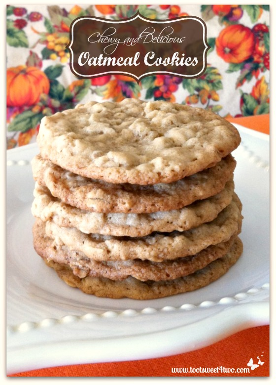 Oatmeal Cookies Pinterest