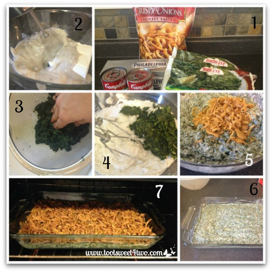 Spinach Casserole tutorial