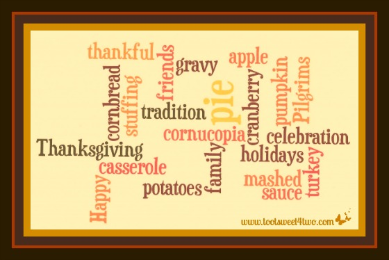 Thanksgiving Wordle