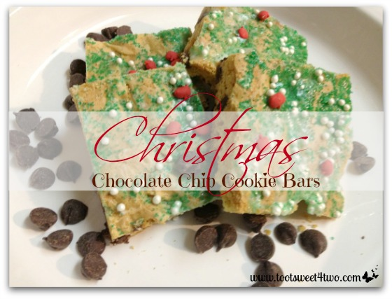 Christmas Chocolate Chip Cookie Bars cover