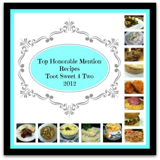 Honorable Mention Recipes