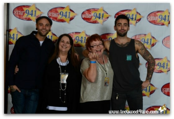 Me and Patti with Hedley