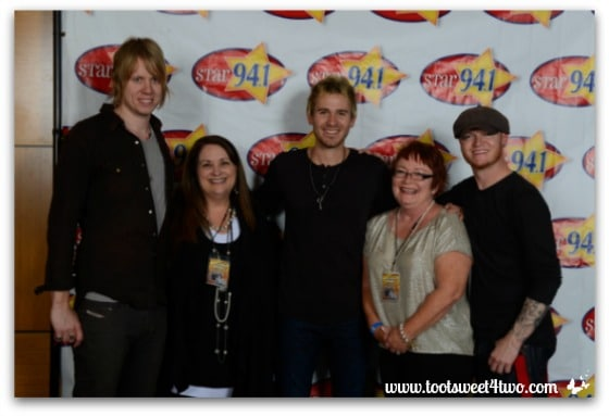 Me and Patti with Lifehouse