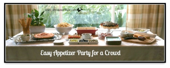 Easy Appetizer Party for a Crowd cover