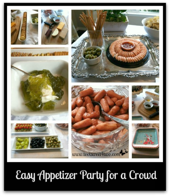 Easy Appetizer Party for a Crowd
