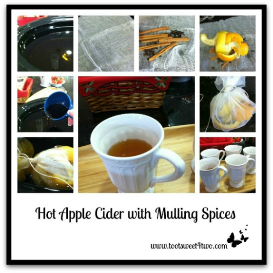 Hot Apple Cider with Mulling Spices tutorial