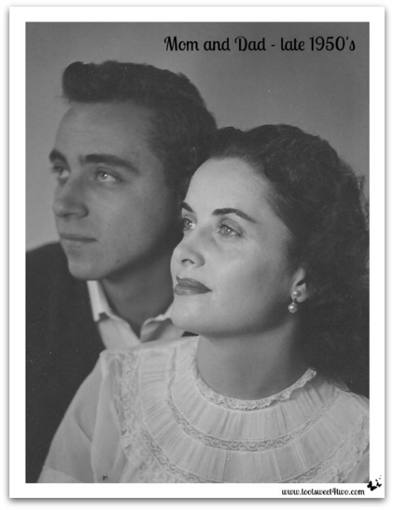 Mom and Dad, late 1950's - Requiem for My Father