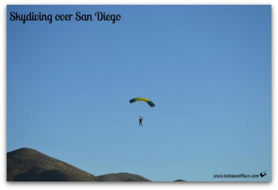 Skydiving over San Diego - 42 Things to do in San Diego