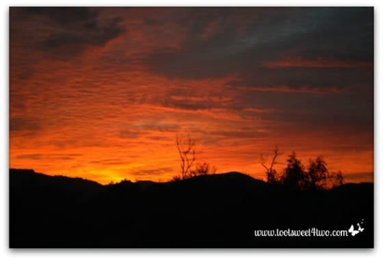 Sunset in my valley - Good Photographs
