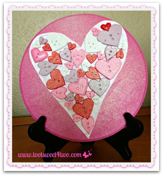 DIY Heart Plaque