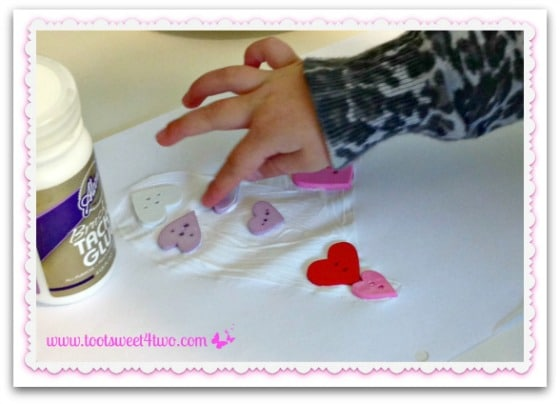 DIY Valentine Heart Plaque - Step 2