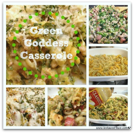 Green Goddess Casserole tutorial