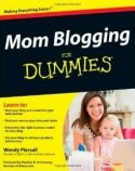 Mom Blogging for Dummies 125x158