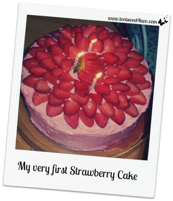 My very first Strawberry Cake