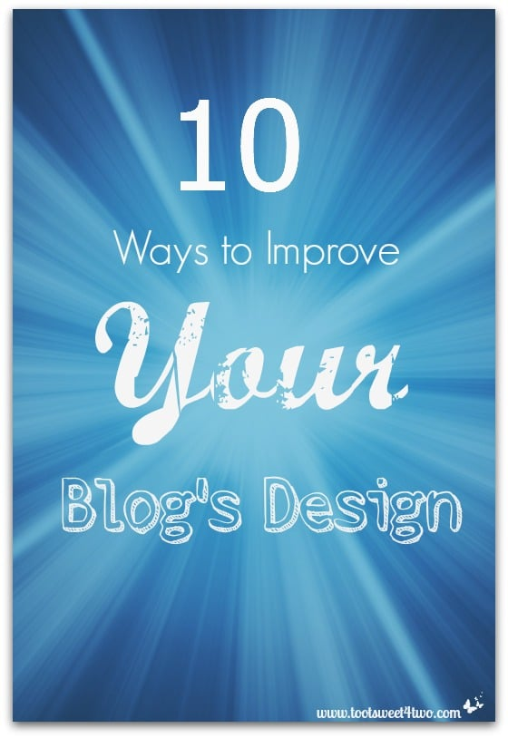 10 Ways to Improve Your Blog's Design cover