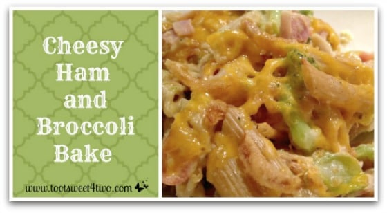 Cheesy Ham and Broccoli Bake cover