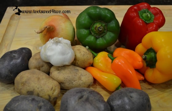 Irish Rainbow Country Potatoes ingredients