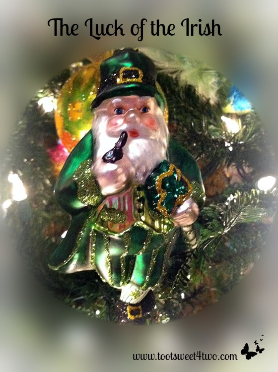 Leprechaun Christmas Ornament