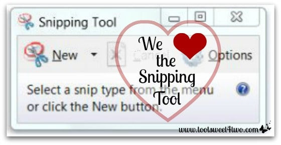We Heart the Snipping Tool cover