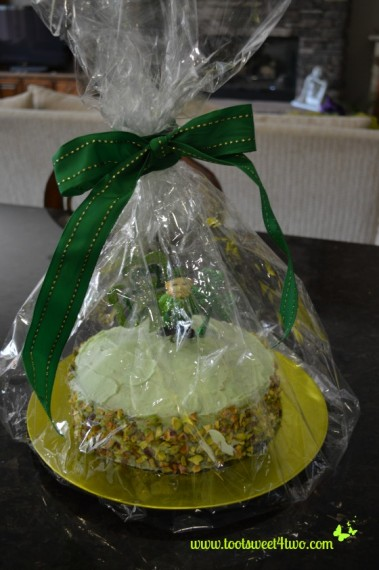 Wrapped Leprechaun Cake