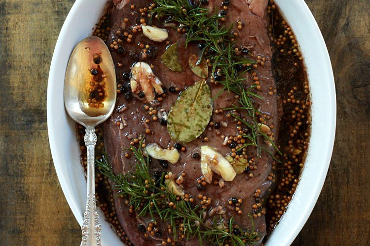 Easy Red Wine Marinade for Beef