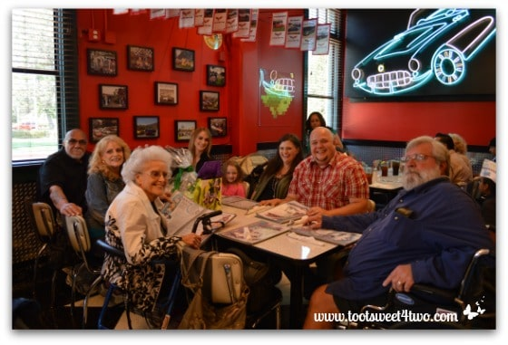 My Family at the Corvette Diner
