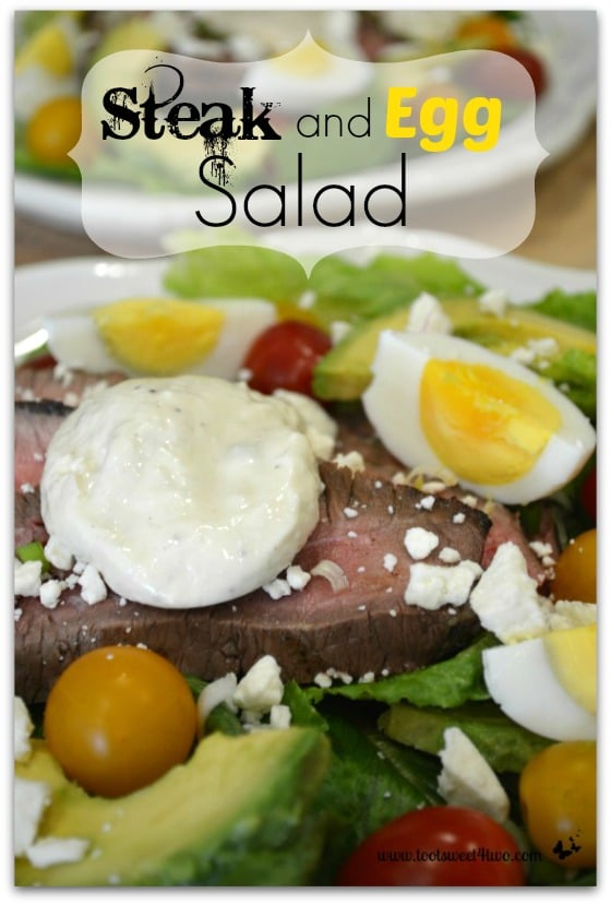 Steak and Egg Salad Pinterest