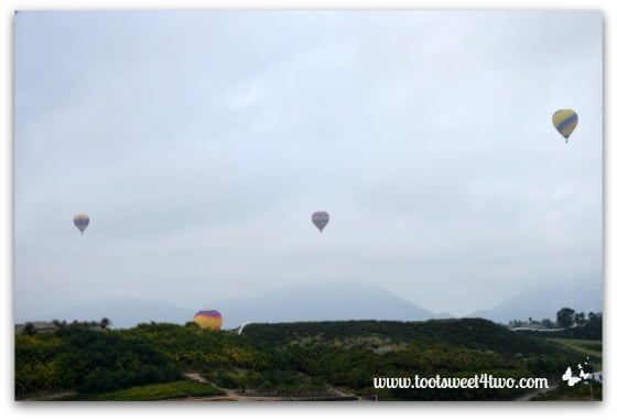 4th Hot Air Balloon ascending