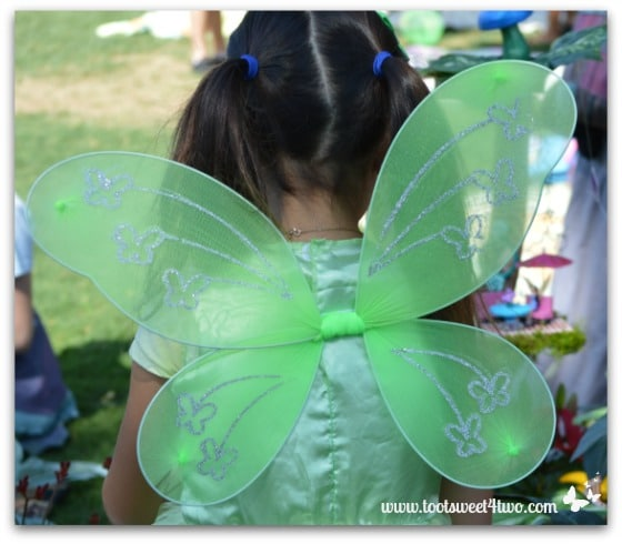 Green Fairy Wings