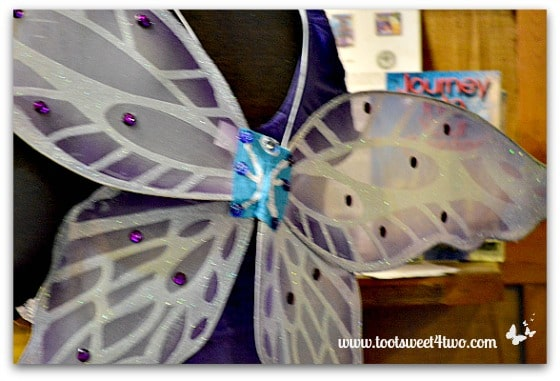 Purple and Cream Fairy Wings