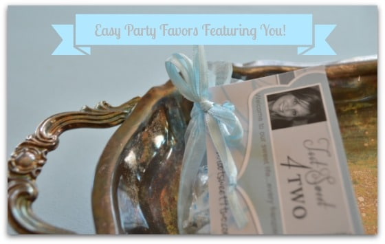 Easy Party Favors Featuring You - cover