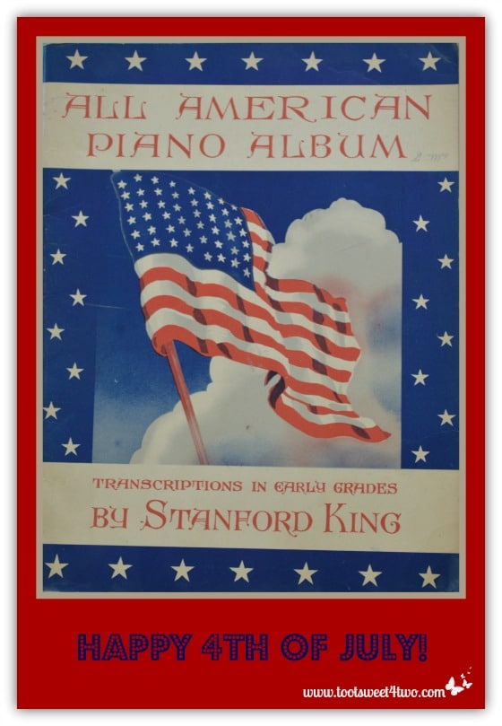 Happy 4th of July - All American Piano Album