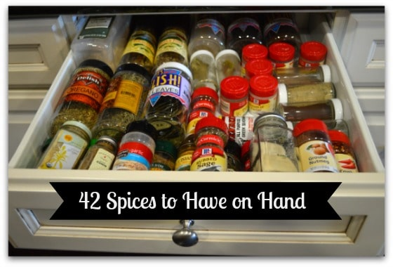 42 Spices to Have on Hand