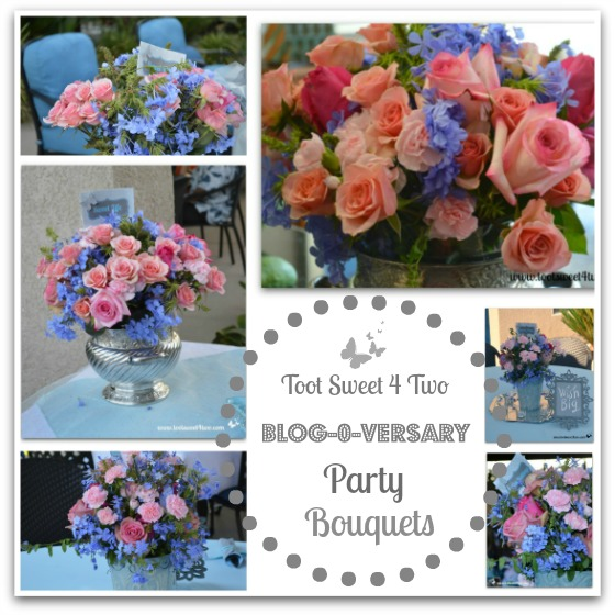 Bouquets for Blogo-versary Party