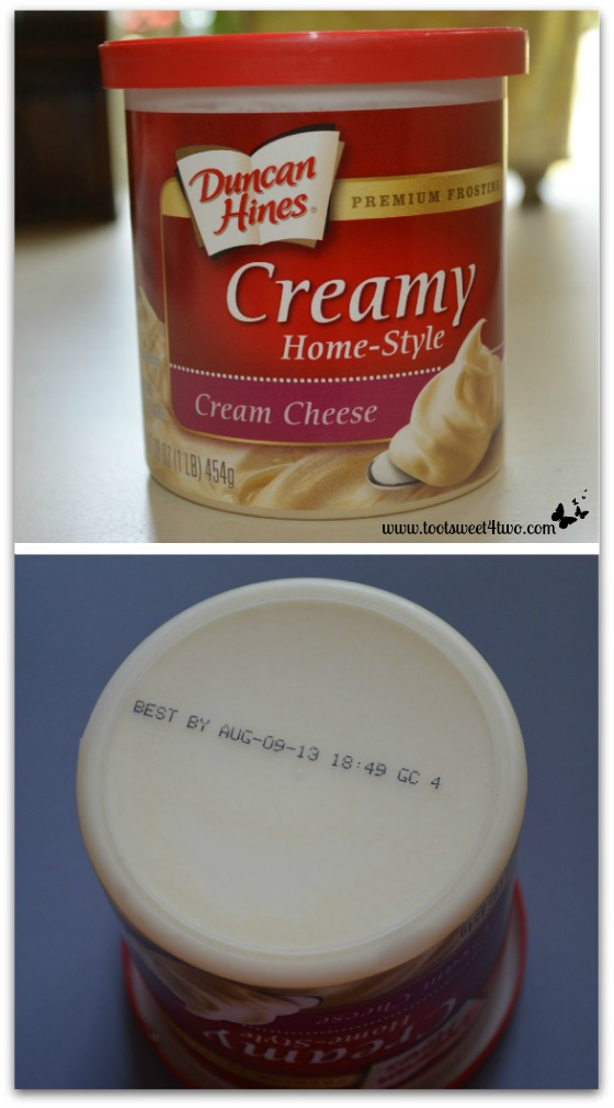 Expired frosting