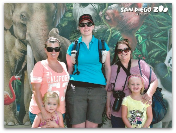 Our day at the San Diego Zoo