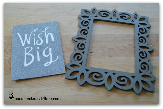 Wish Big card and laser frame