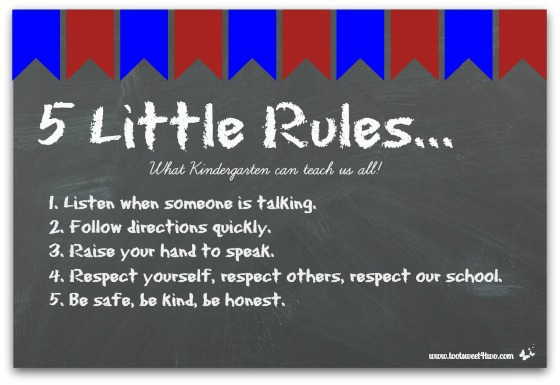 5 Little Rules